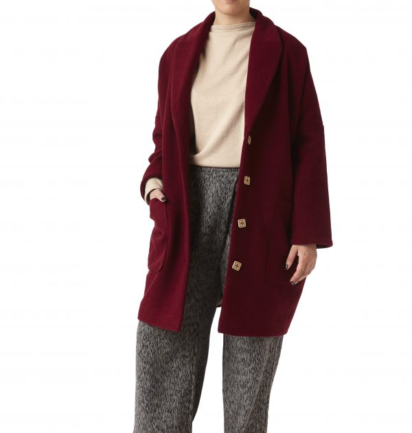 cappotto velour
